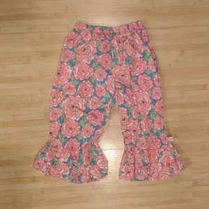 Lolly Wolly Floral Cotton Pants